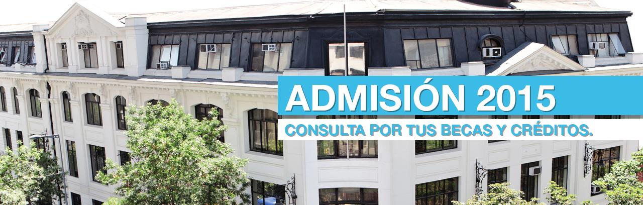 Portada Admision2015 BECA Y CRERDITOS