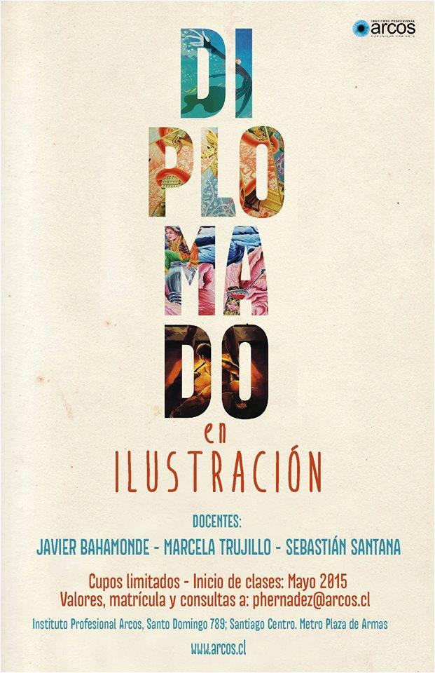 Afiche Diplomado ilustración 2015 (1)