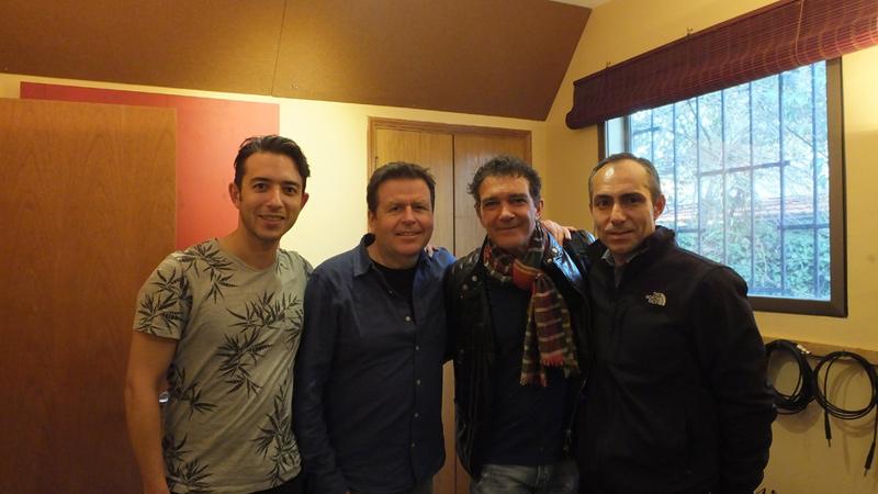 Amory, Simon, Antonio y Roberto