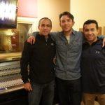 Roberto, Amory y Alejandro
