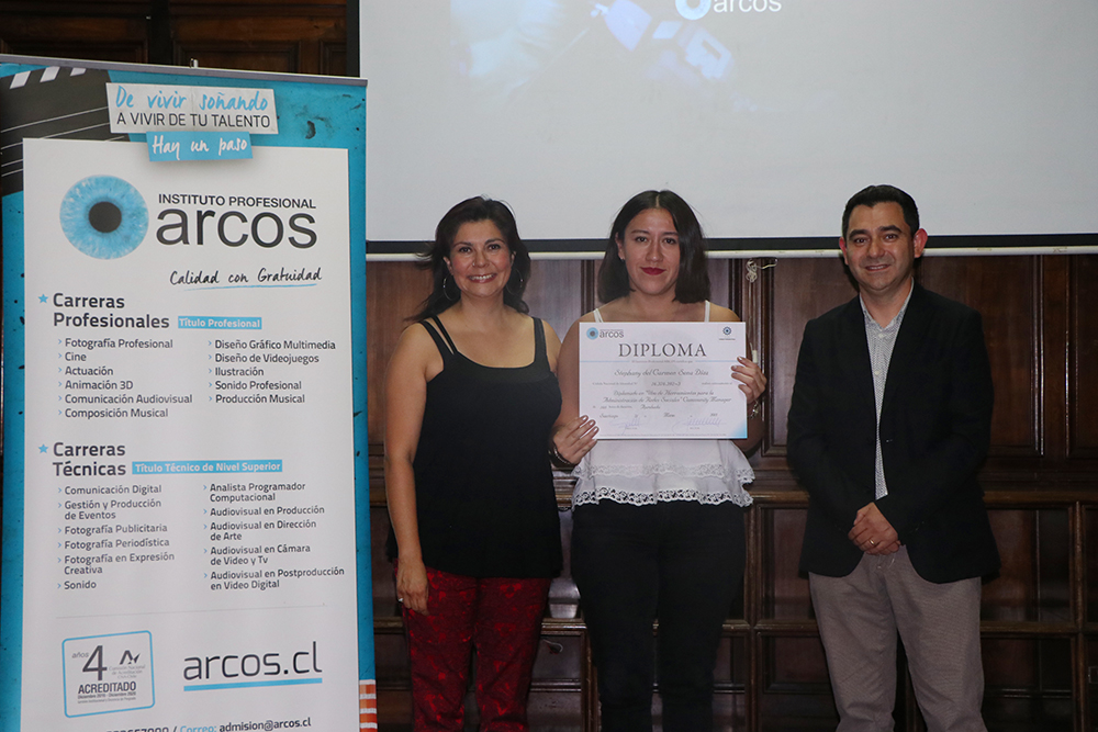 Ceremonia Community Manager Arcos 2017