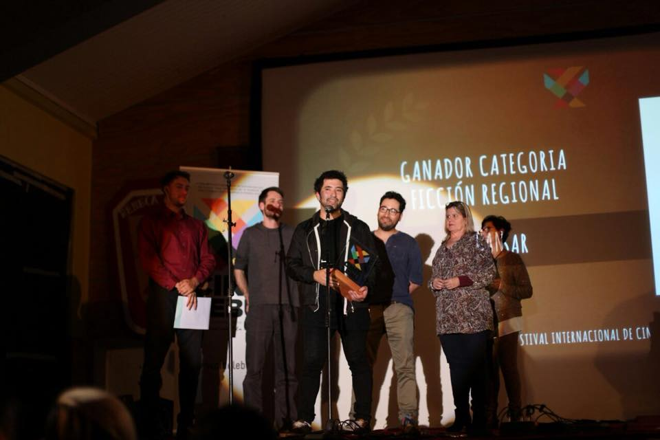 Ignacio Ruiz premiado en Cine Lebu