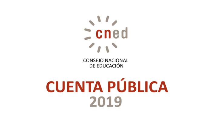 Cuenta pública del Consejo Nacional de Educación