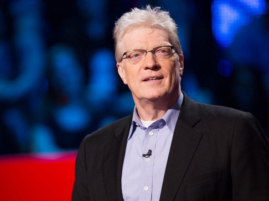 Sir Ken Robinson durante una Ted Talks