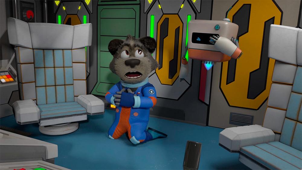 Serie infantil Perrito Galáctico, obtiene fondo CNTV 2020