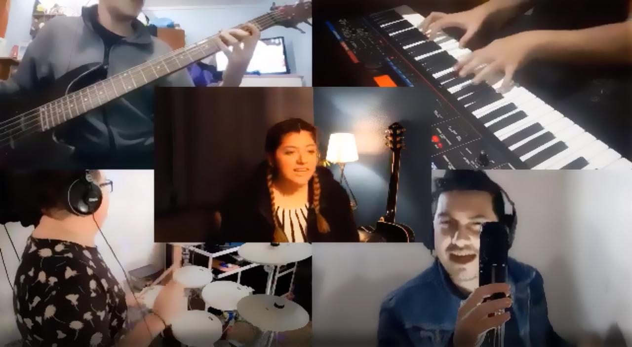 Estudiantes de Composición Musical realizan Taller de Práctica Instrumental a distancia