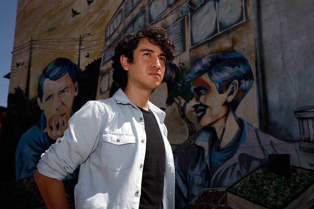 """Aron Hernández: """"ha habido un tremendo trabajo previo de evolución del personaje"""""""
