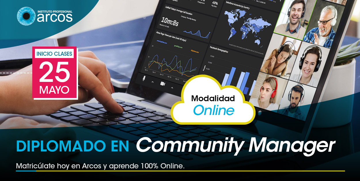 ARCOS inicia postulaciones para la 3ra versión de su Diplomado en Community Manager Online