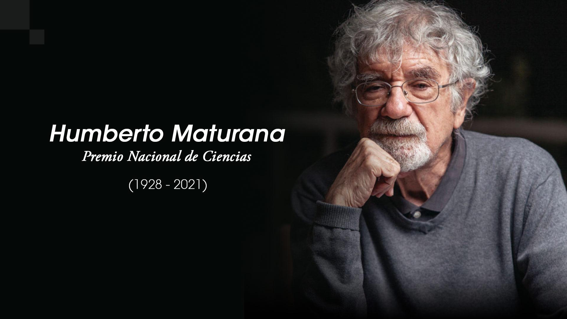 A los 92 fallece el destacado pensador Humberto Maturana