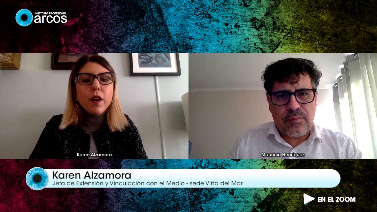 Karen Alzamora, Jefa de Extensión Viña del Mar, conversa con En el Zoom