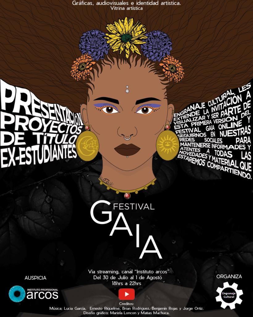 Afiche Festival GAIA