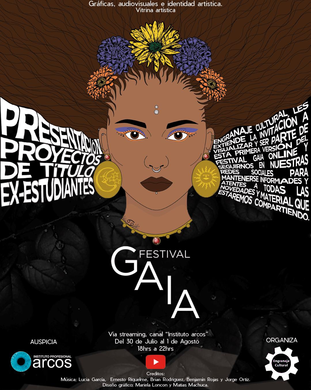 Festival GAIA: Gráficas Audiovisuales e Identidad Artística