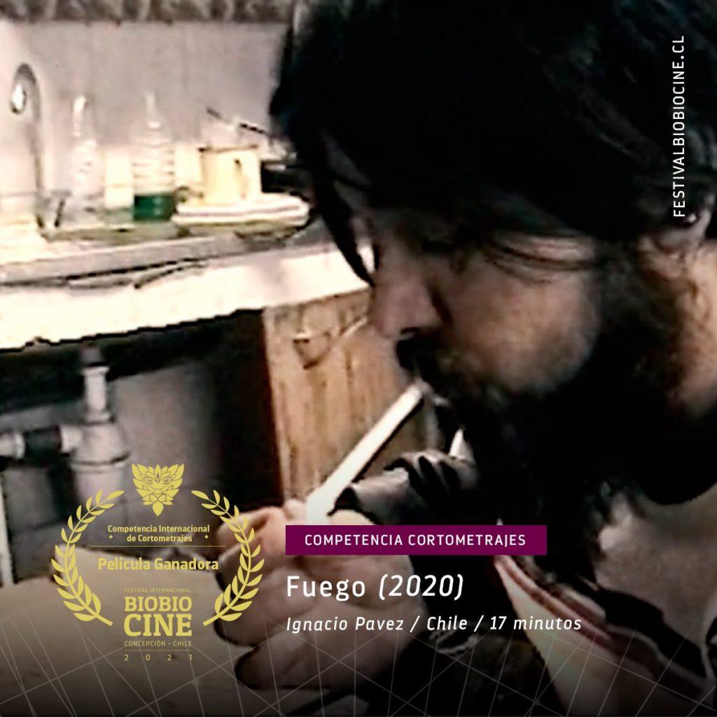 Fuego: Película ganadora competencia internacional de Cortometrajes BioBioCine