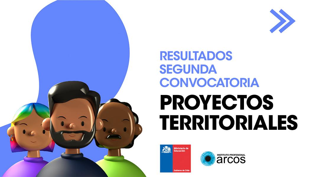 Resultados segunda convocatoria Proyectos Territoriales